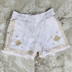 JCREW Embroidery Shorts